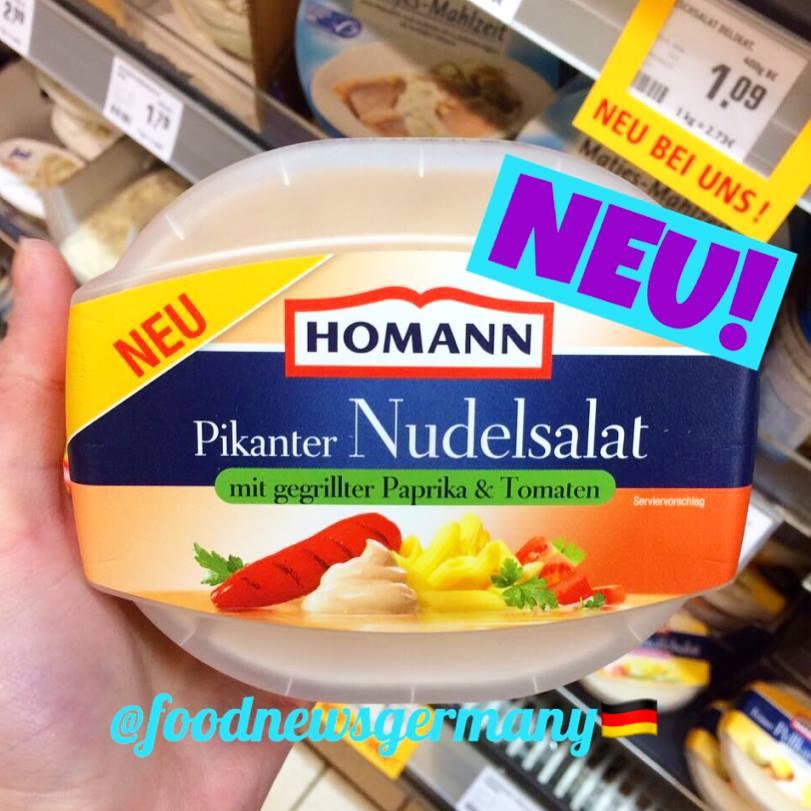 Homann Pikanter Nudelsalat