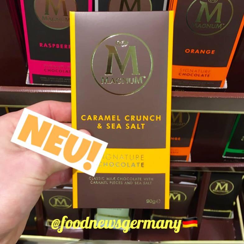 Magnum M Tafelschokolade Caramel Crunch & Salt