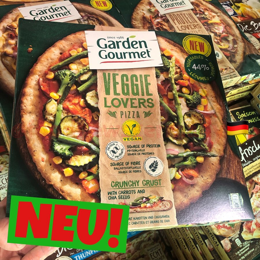Garden Gourmet Veggie Lovers Pizza