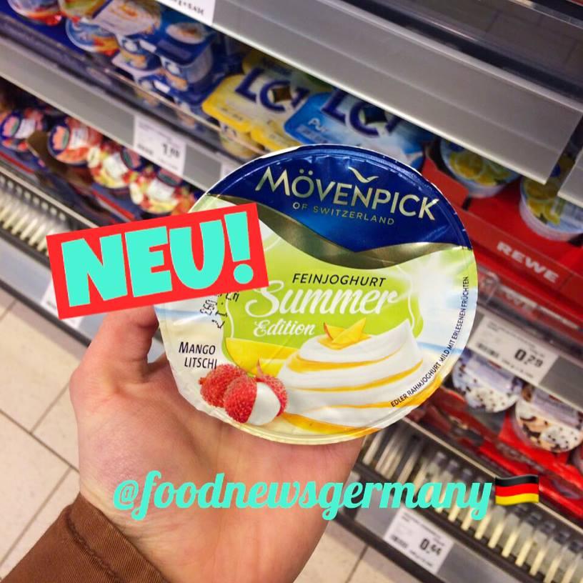 Mövenpick Joghurt Summer Edition Mango Litschi