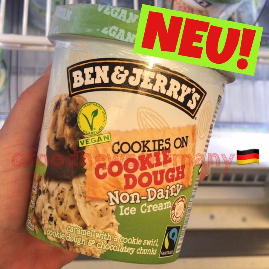 Ben & Jerry's Cookies on Cookie Dough vegan