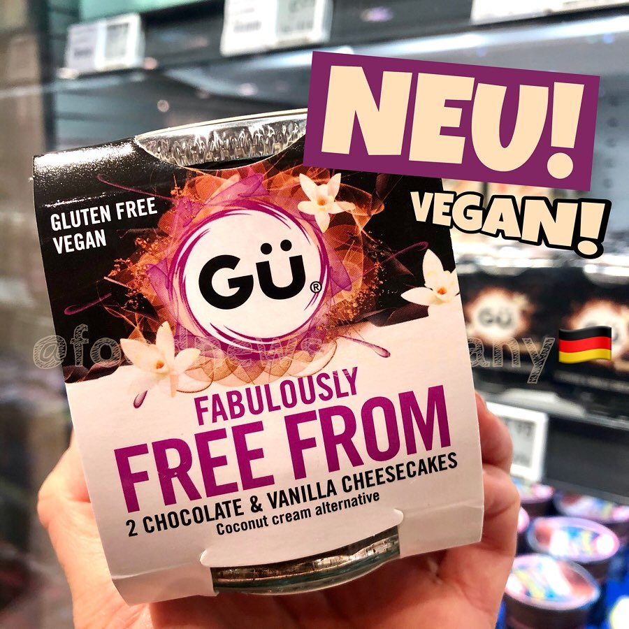 """GÜ """"free from"""" vegan und glutunfrei"""