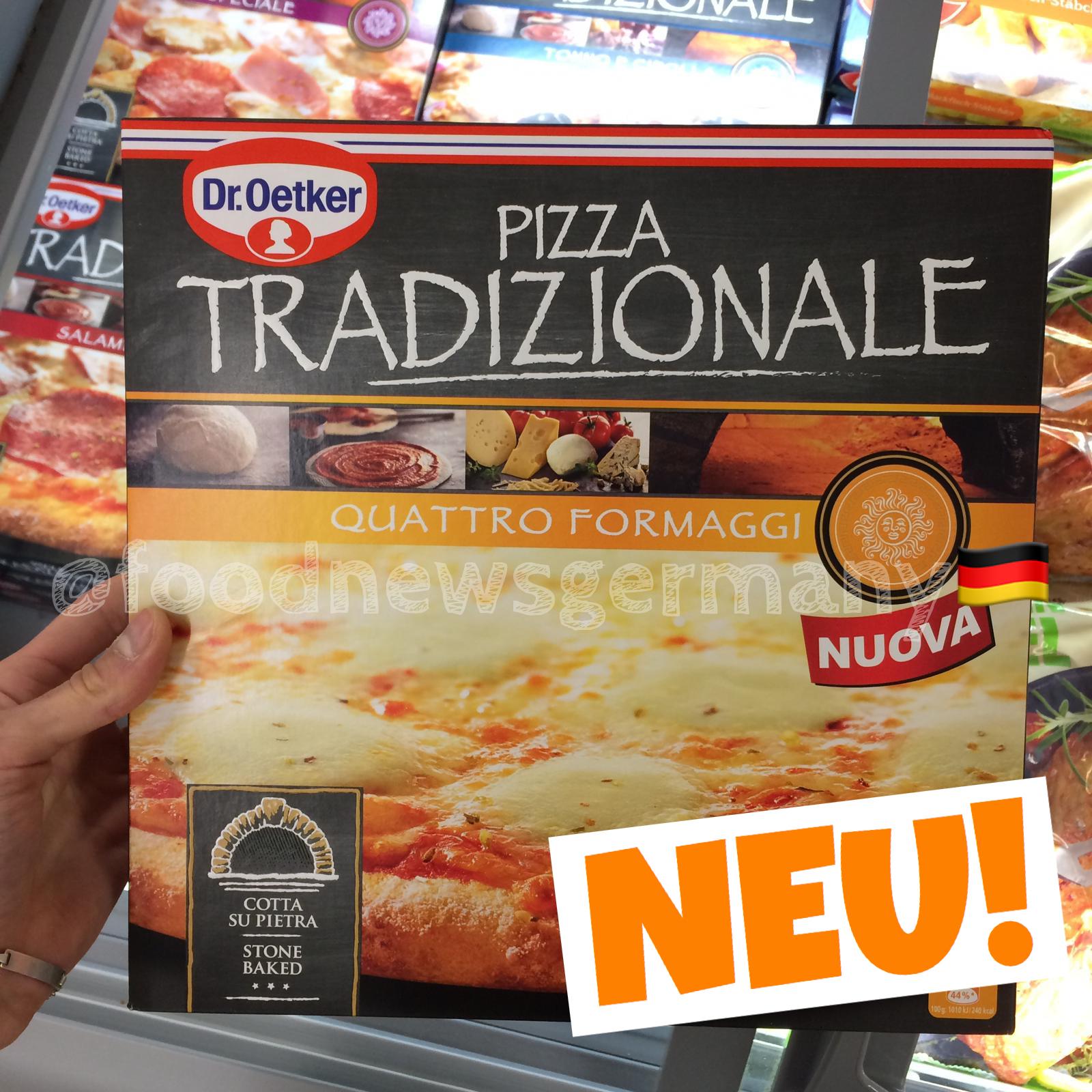 Dr.Oetker Pizza Tradizionale Quattro Formaggi