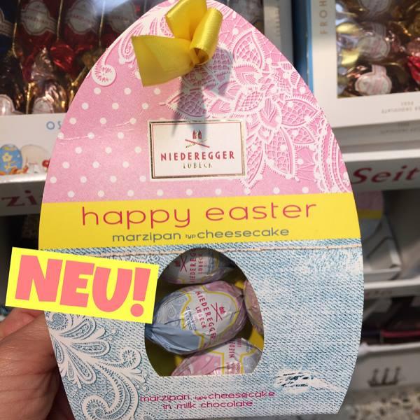 Niederegger Marzipan Cheesecake Eggs