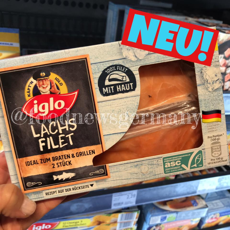 Iglo Lachs Filet