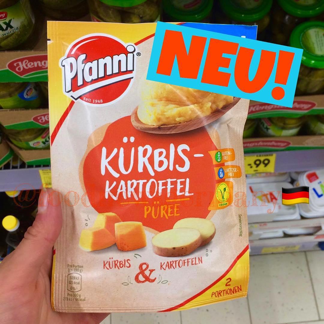 PFANNI KÜRBIS PÜREE