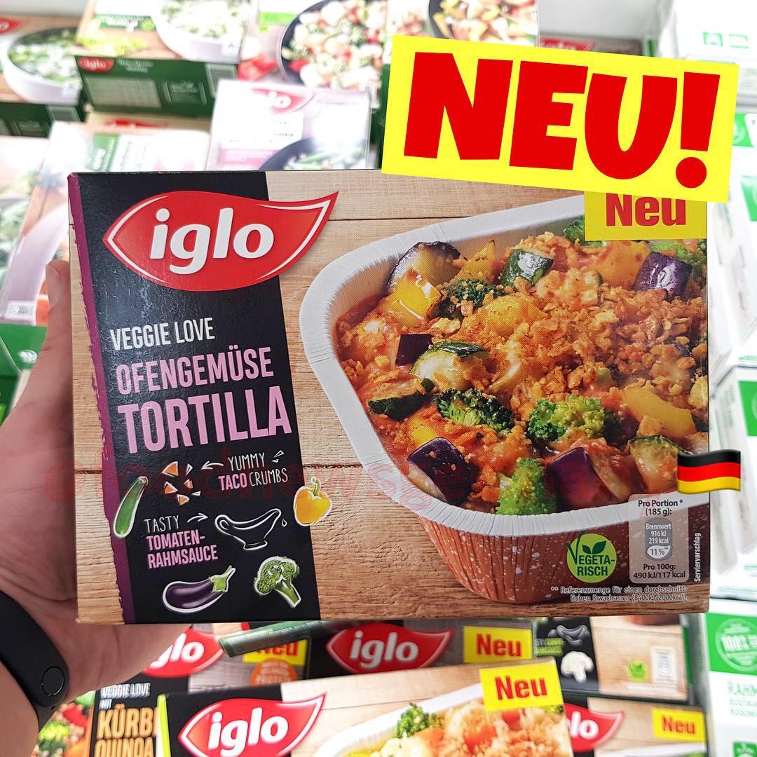 Iglo Ofengemüse Tortilla
