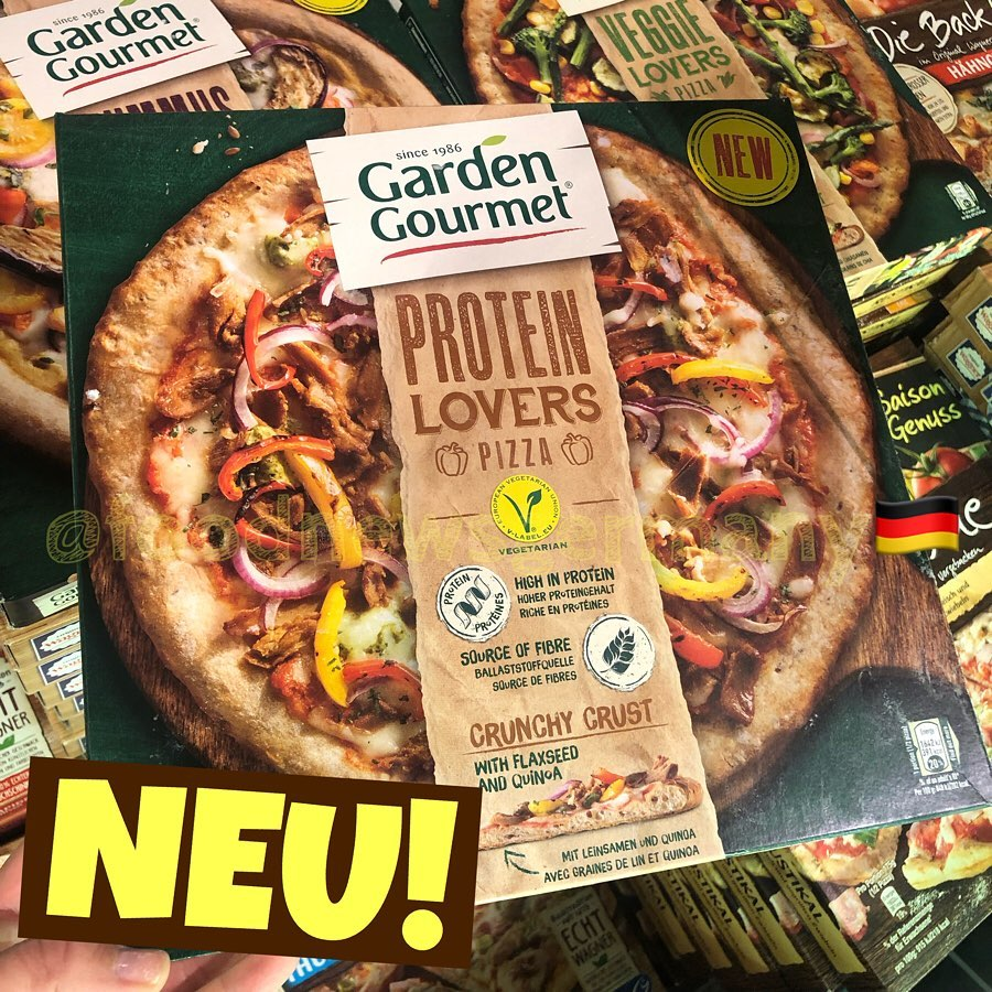 Garden Gourmet Protein Lovers Pizza