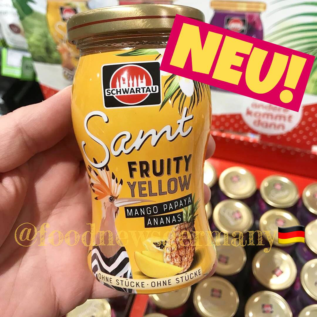 Schwartau Samt Fruity Yellow