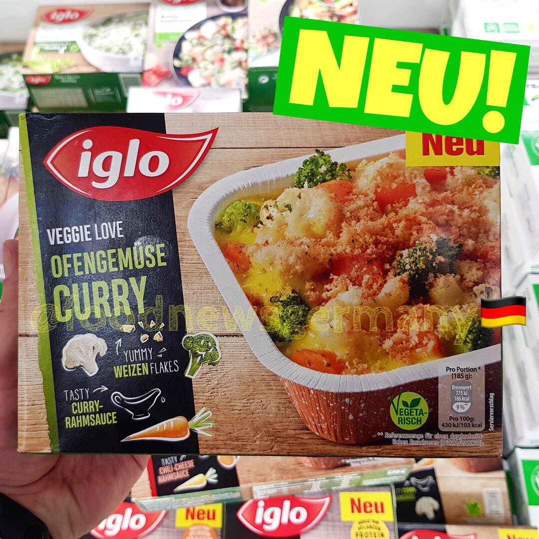 Iglo Ofengemüse Curry