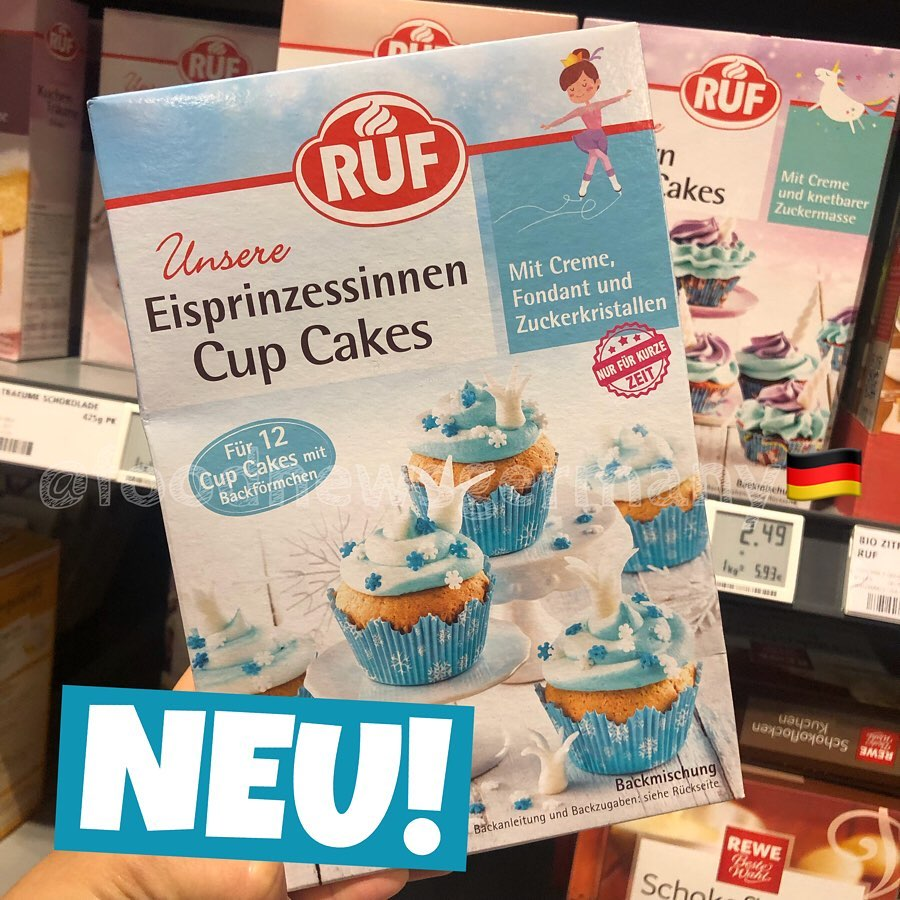 Ruf Eisprinzessinen Cup Cakes