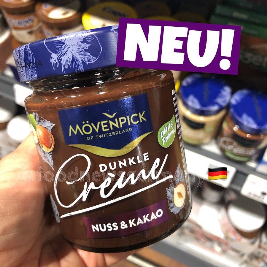 Mövenpick Dunkle Creme Nuss & Kakao