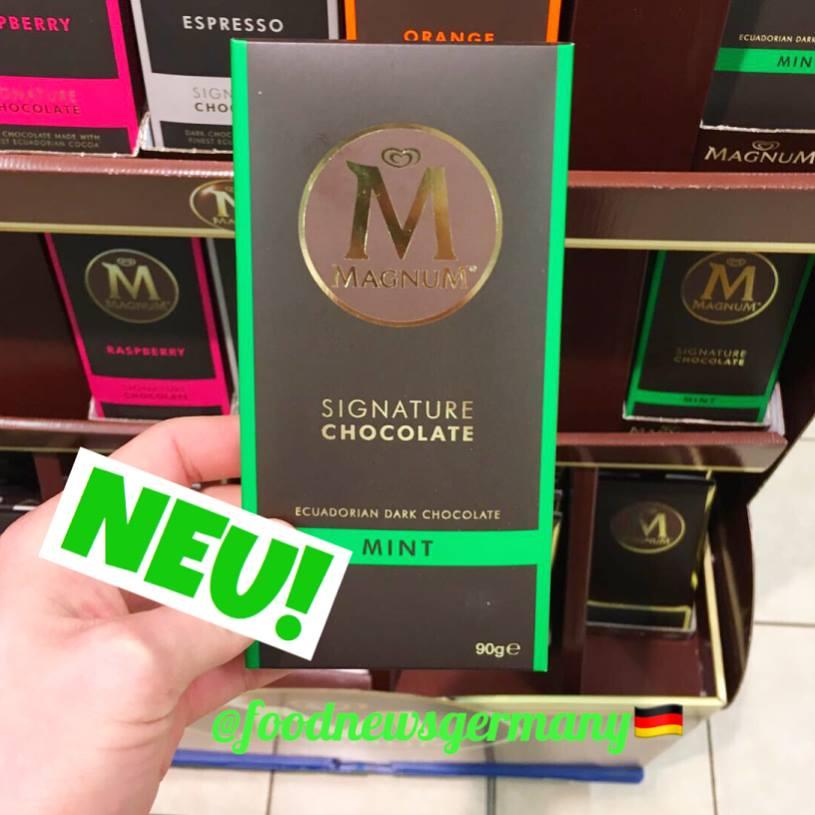 Magnum M Tafelschokolade Mint