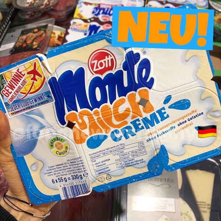 Zott Monte Milchcreme