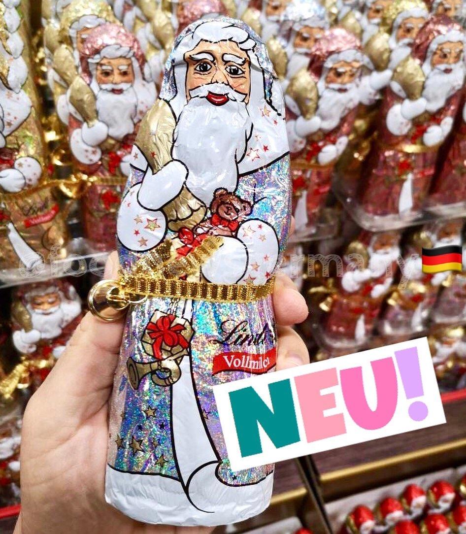 Lindt Schokoweihnachtsmann Glitzer Edition