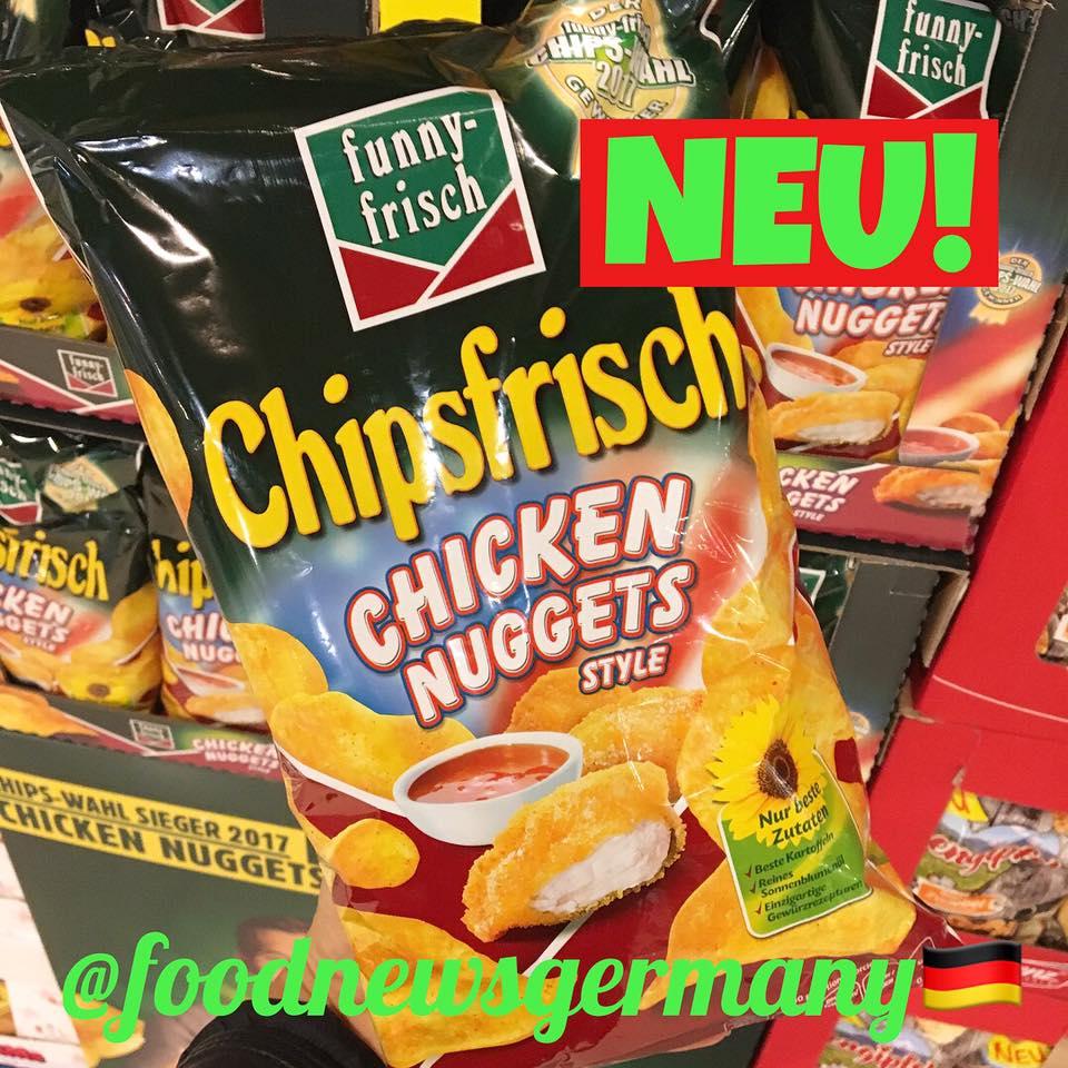 Funny frisch Chipsfrisch Chicken Nuggets Style
