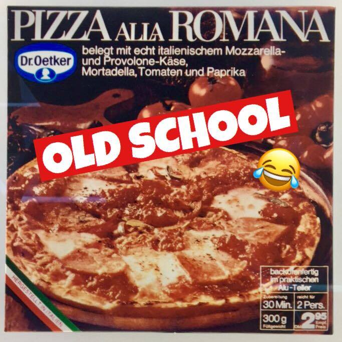 Der erste Dr.Oekter Pizzakarton ever!