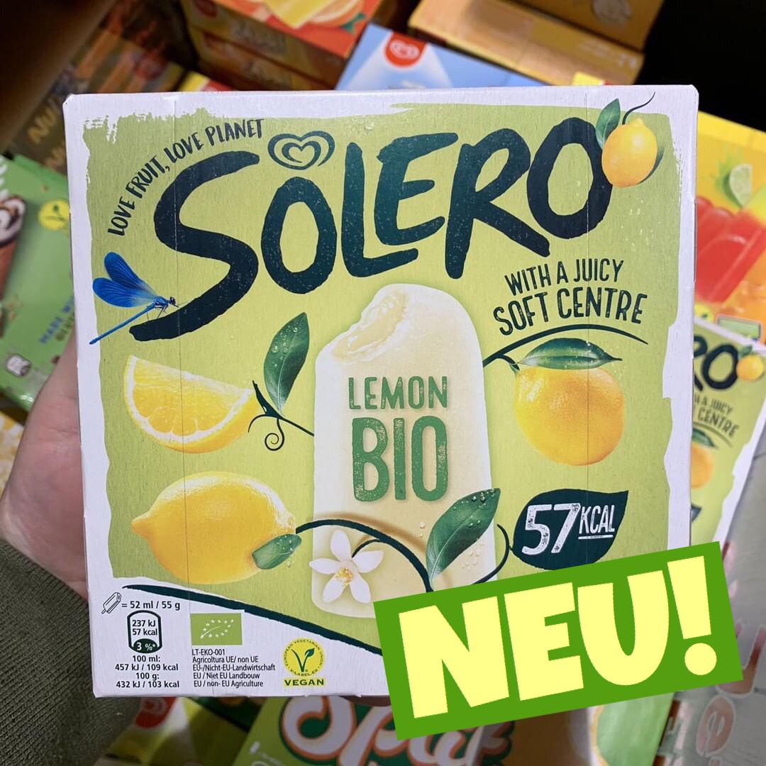 Solero Bio Lemon Eis