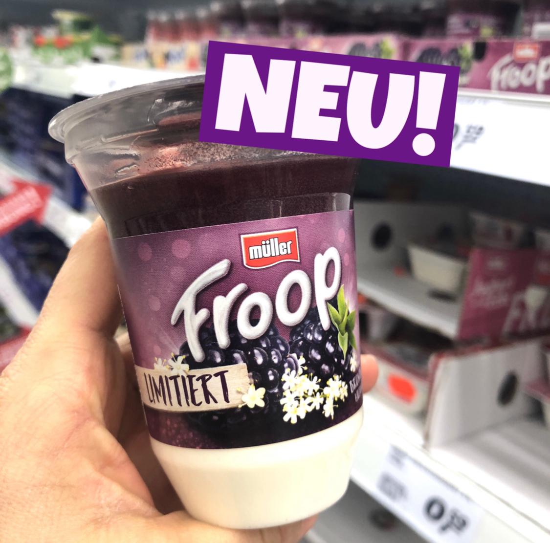 Müller Froop Brombeer Holunderblüte