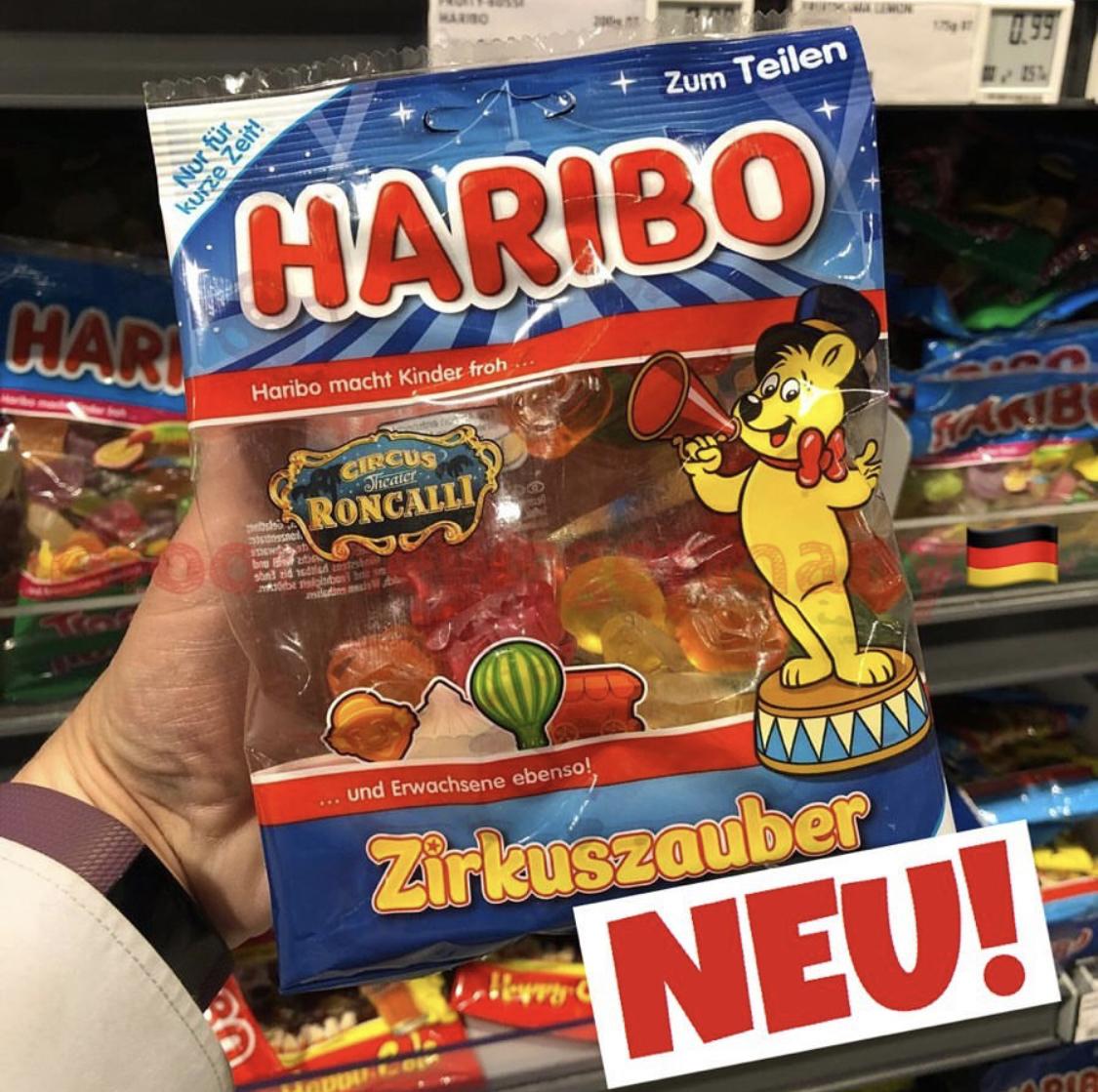 Haribo Zirkuszauber
