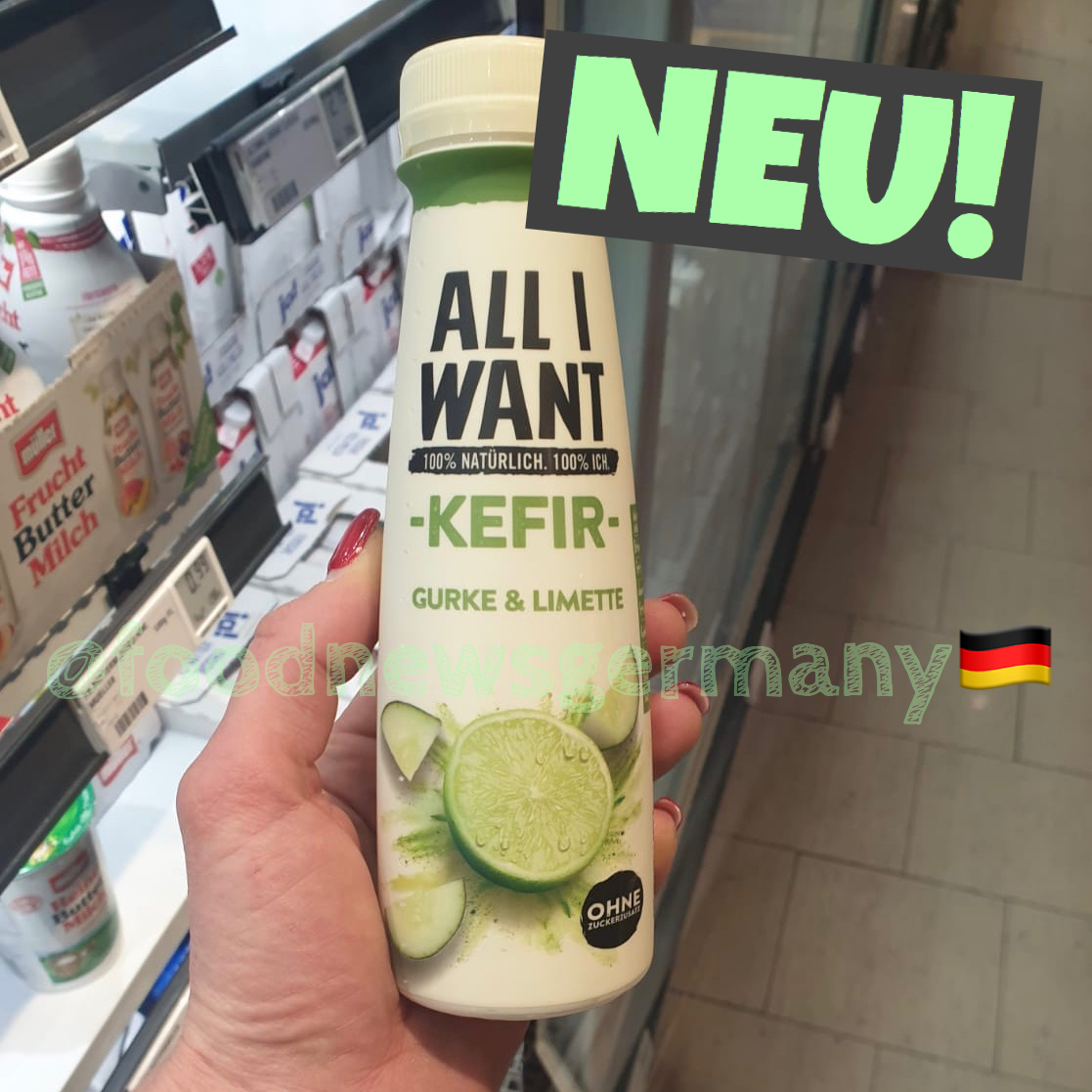 Danone All I want Kefir