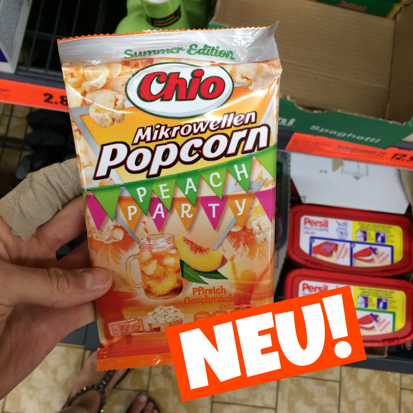 Chio Popcorn Peach Party