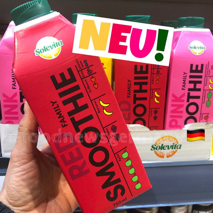 Lidl Solevita Red Smoothie