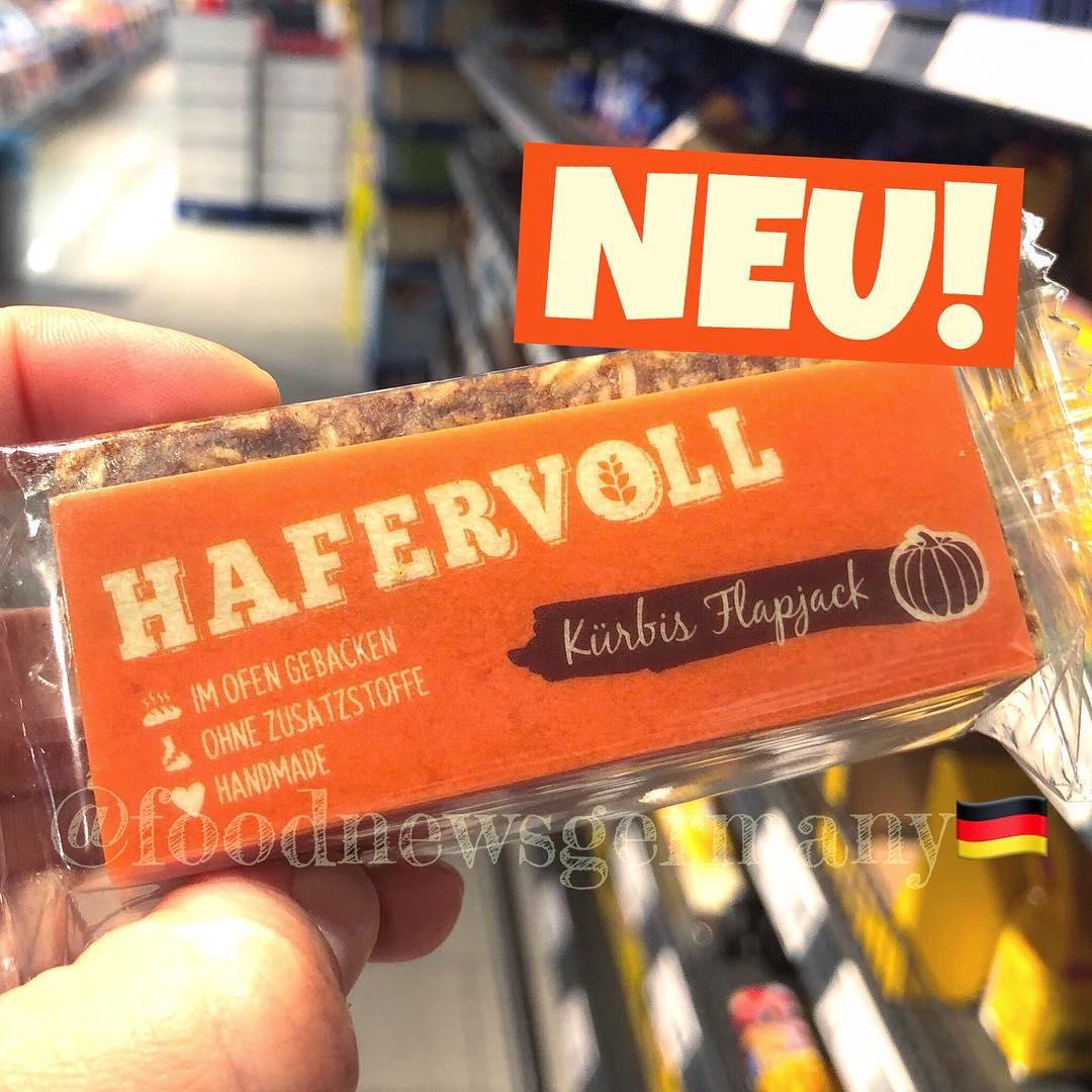 HAFERVOLL KÜRBIS FLAPJECK