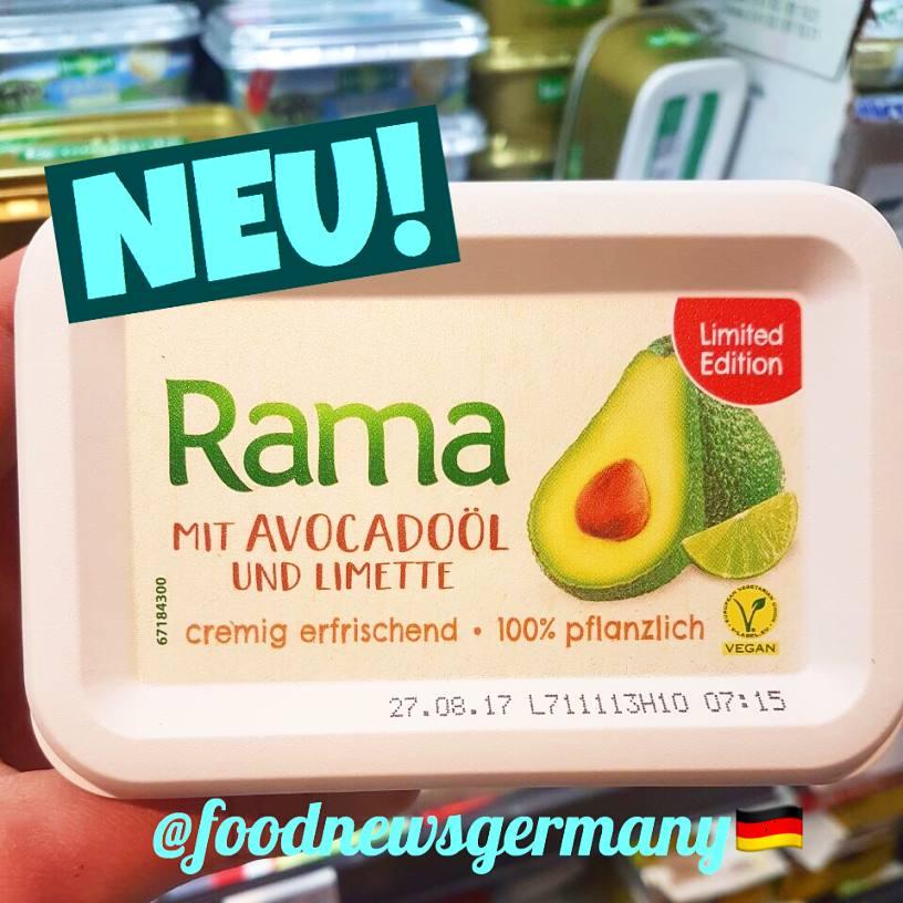 Rama mit Avocado Öl & Limette