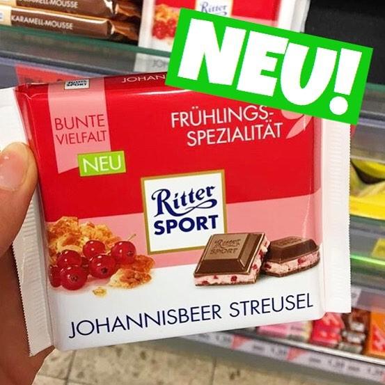 Ritter Sport Johannisbeere Streusel