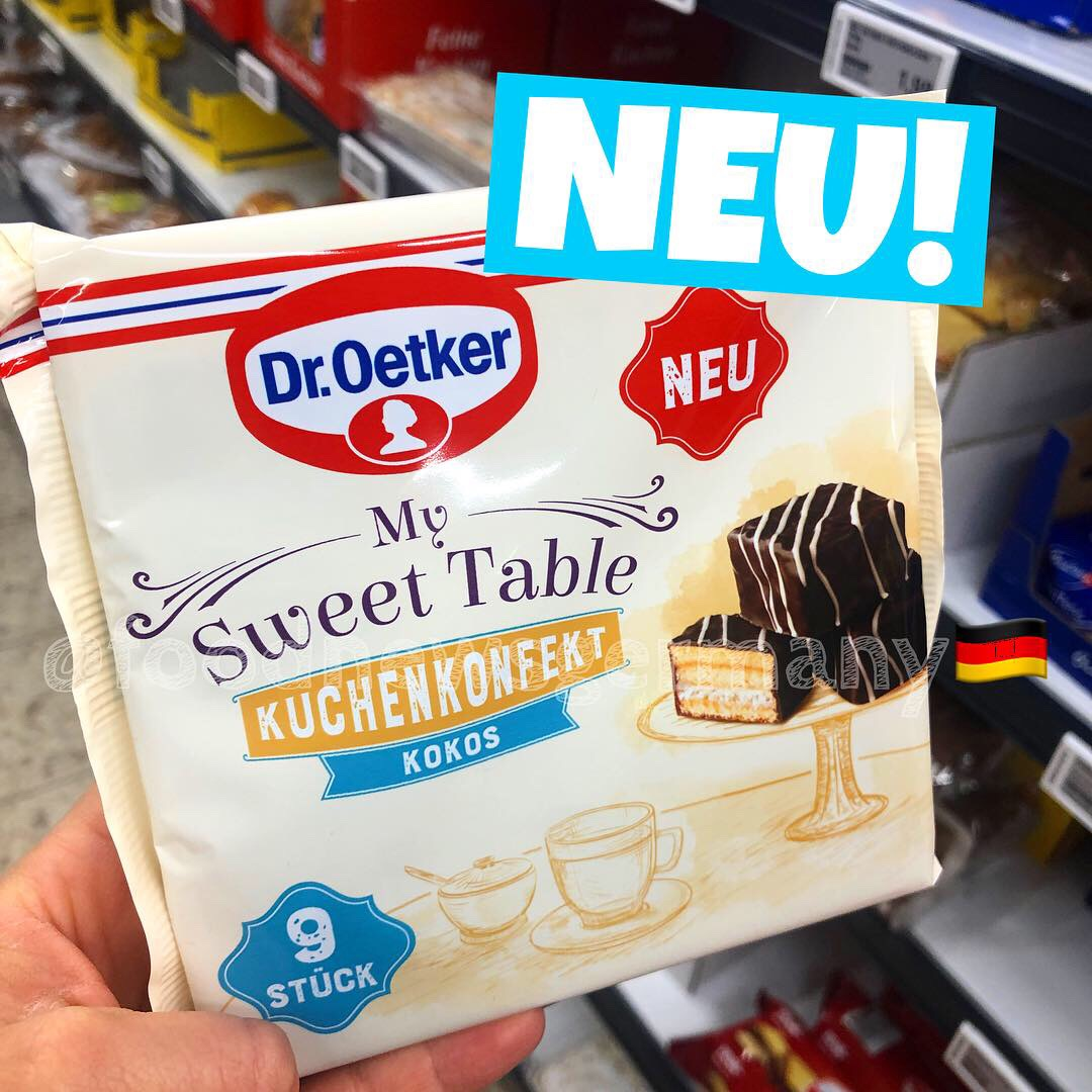 "Dr. Oetker ""My Sweet Table"" Kuchenkonfekt Kokos"