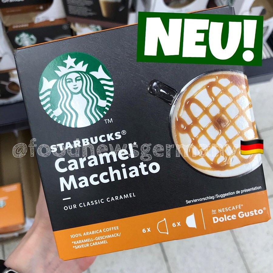 Starucks Caramel Macchiato Dolce Gusto