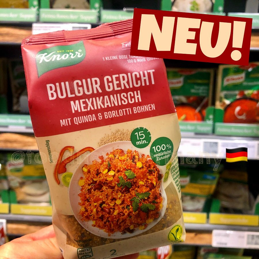 Knorr Bulgur Gericht