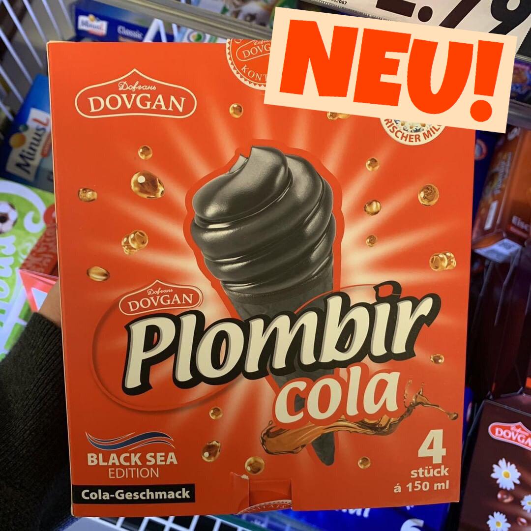 Plombir Cola Eis