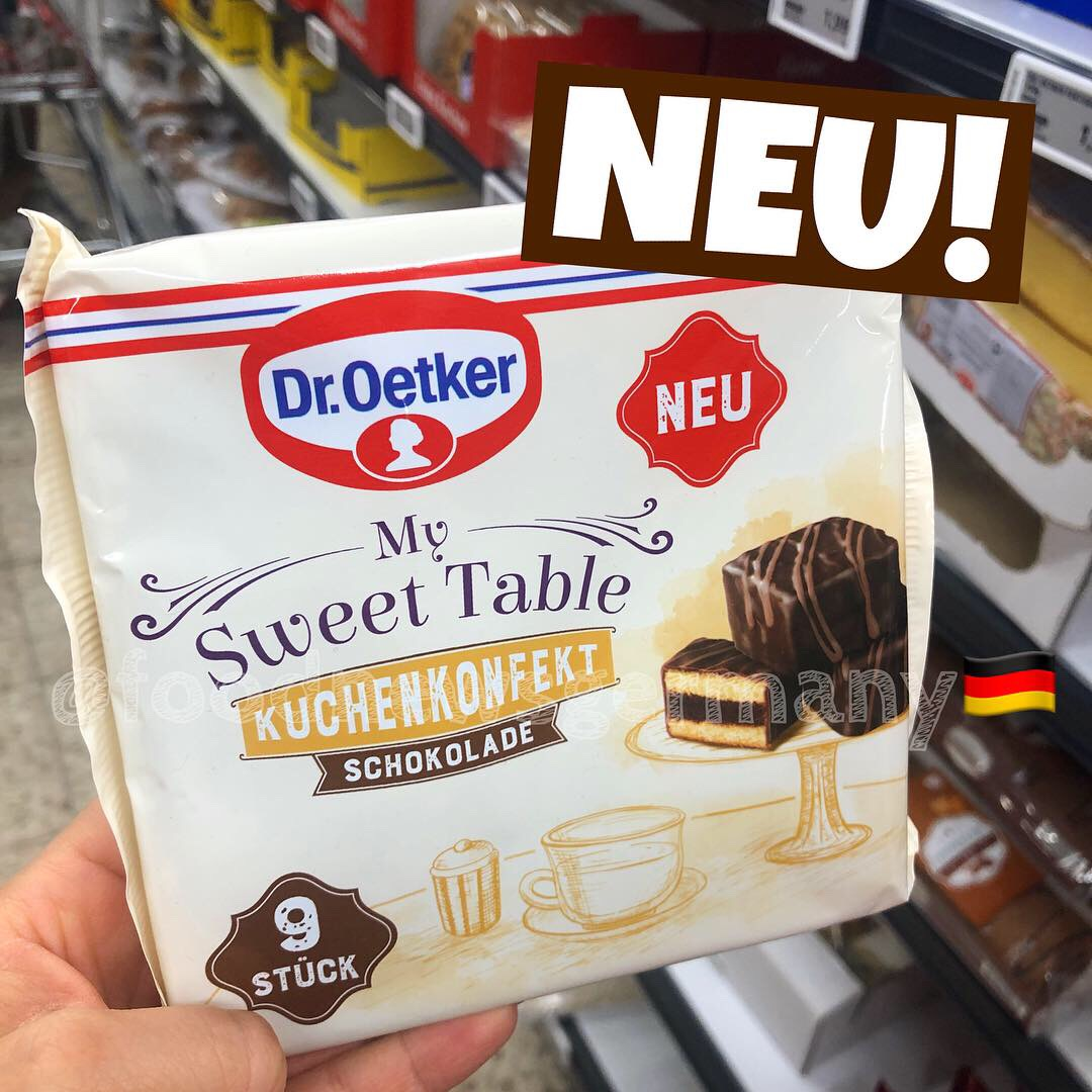 "Dr. Oetker ""My Sweet Table"" Kuchenkonfekt Schokolade"