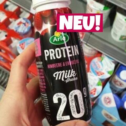 Arla Protein Milk Shake Himbeere & Erdbeere