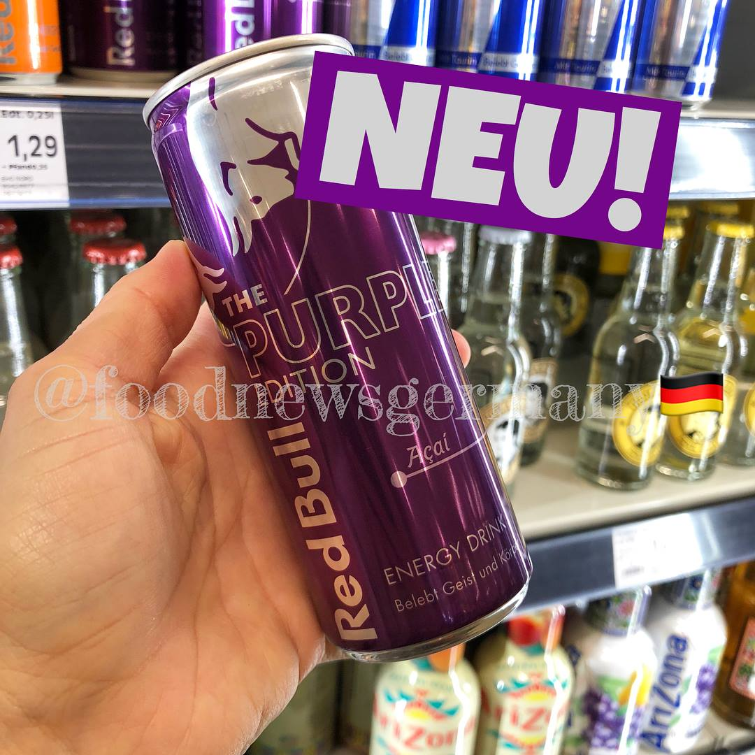 Red Bull Acai Frühlings Edition