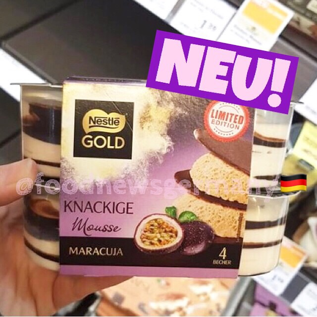 Nestle Gold Mousse Maracuja