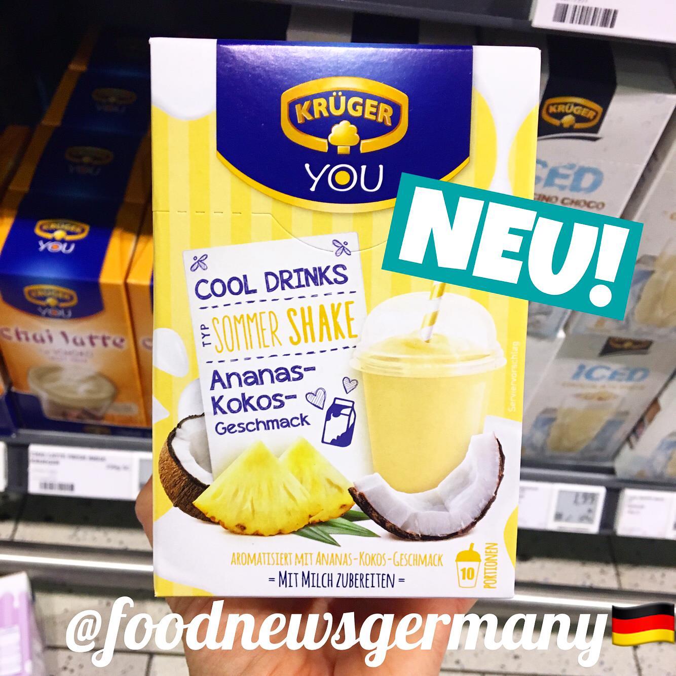 Krüger You Cool Drinks Ananas-Kokos Geschmack