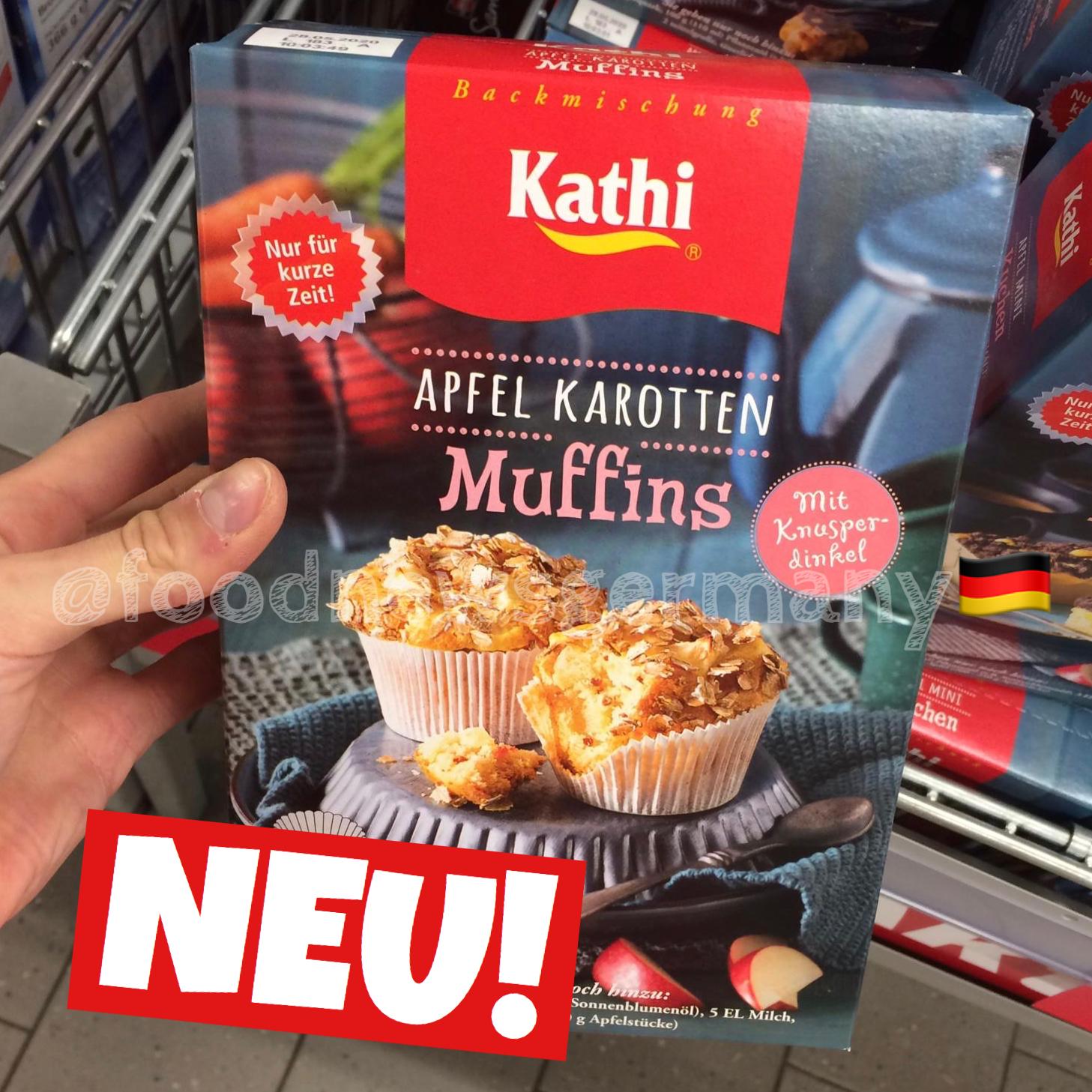 Kathi Apfel Karotten Muffins