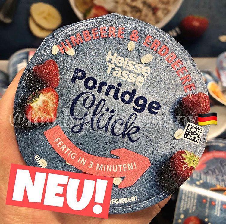 Heisse Tasse Porridge Glück