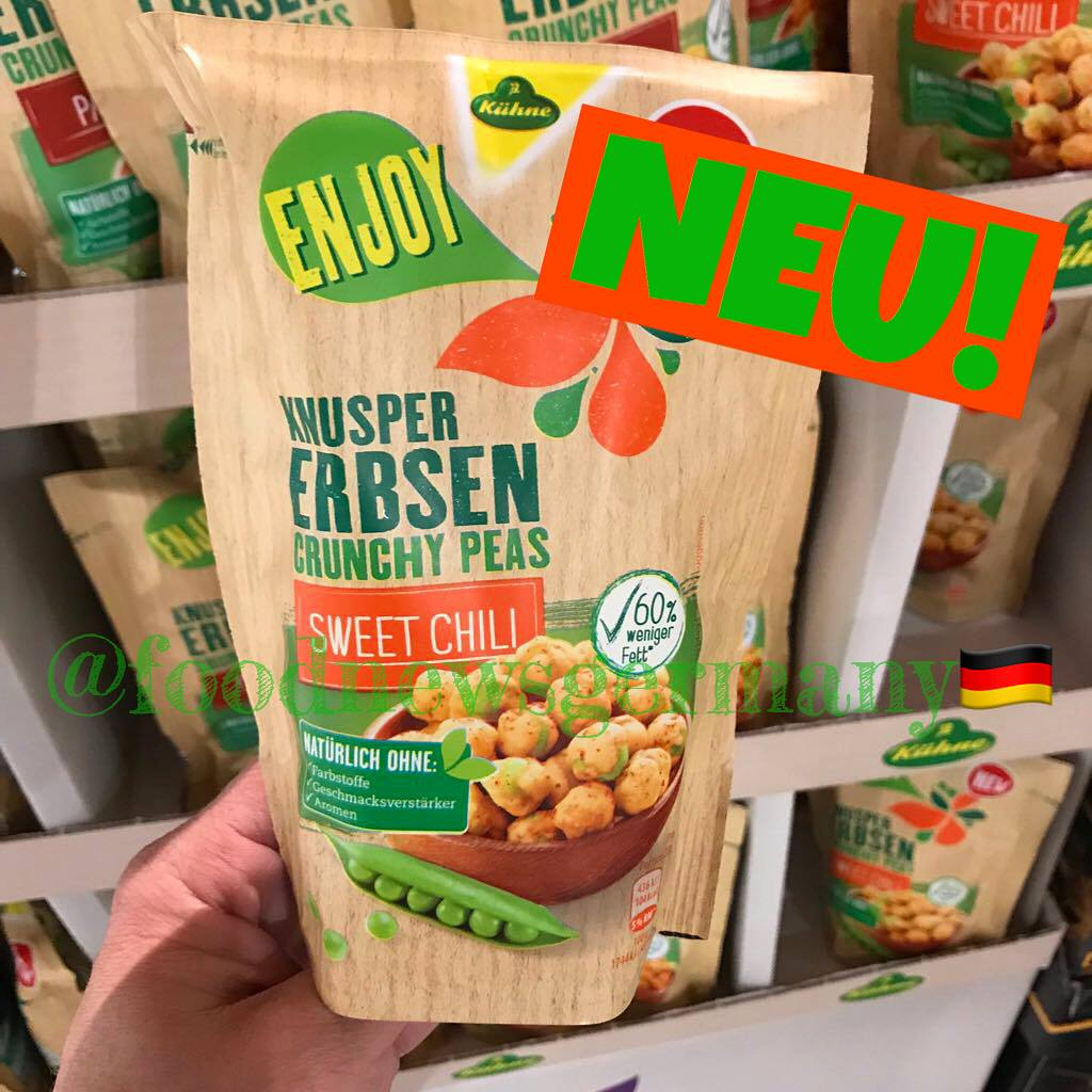 Kühne Enjoy Knusper Erbsen Sweet Chili