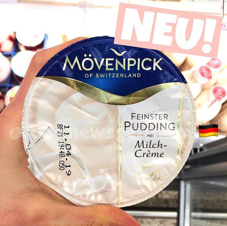 Mövenpick Feinster Pudding mit Milchcreme