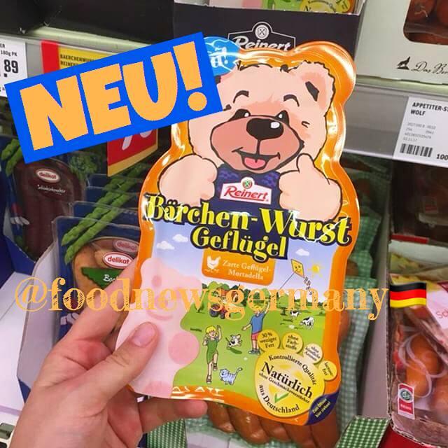 Reinert Bärchen-Wurst Geflügel