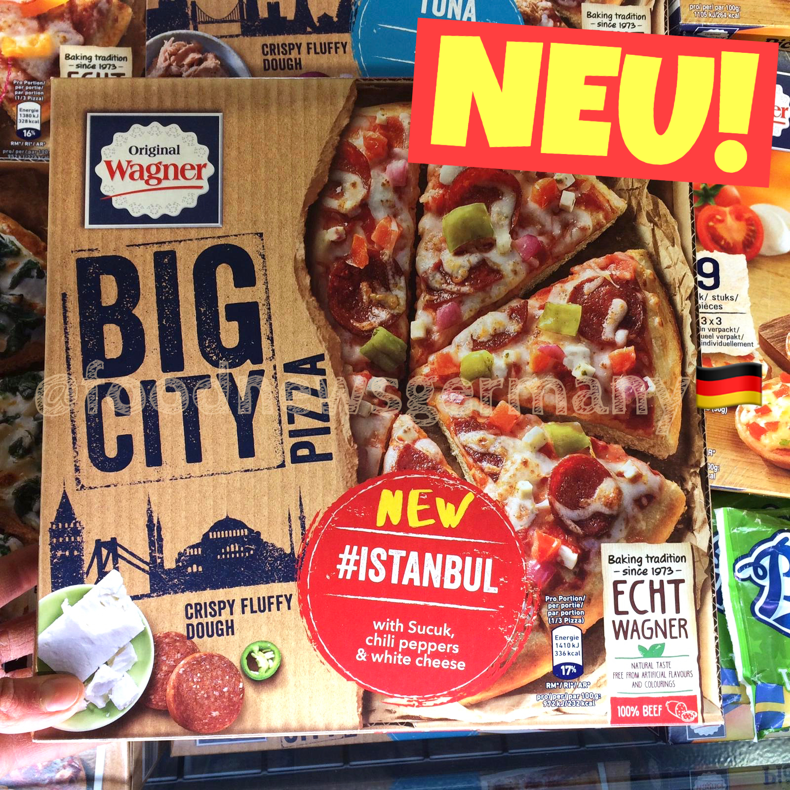 Original Wagner Big City Pizza Istanbul