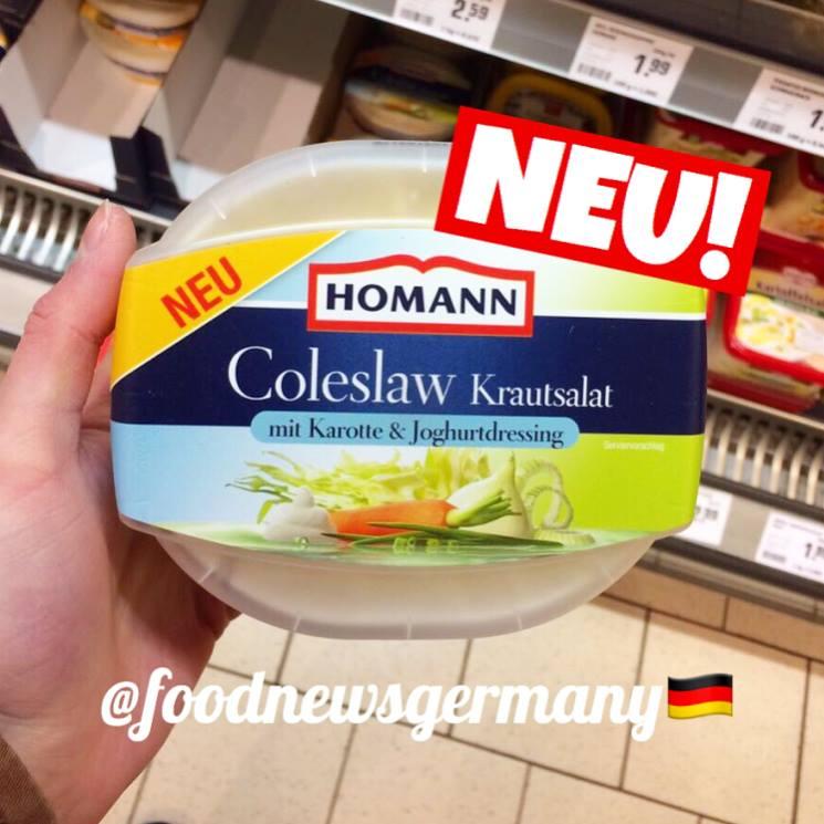 Homann Coleslaw Krautsalat