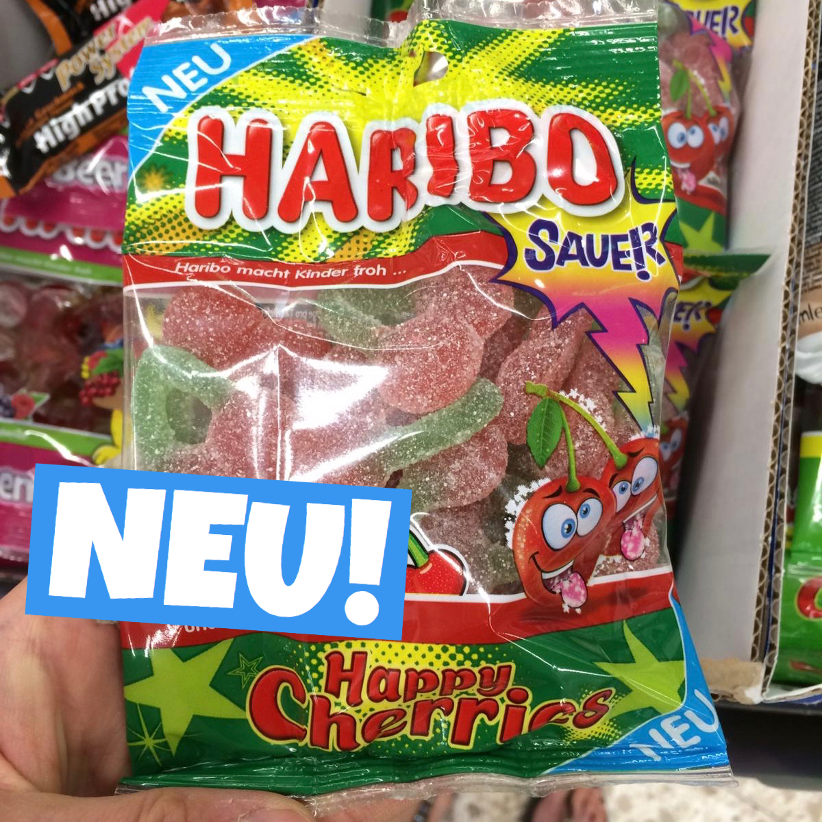 Haribo Happy Cherries sauer