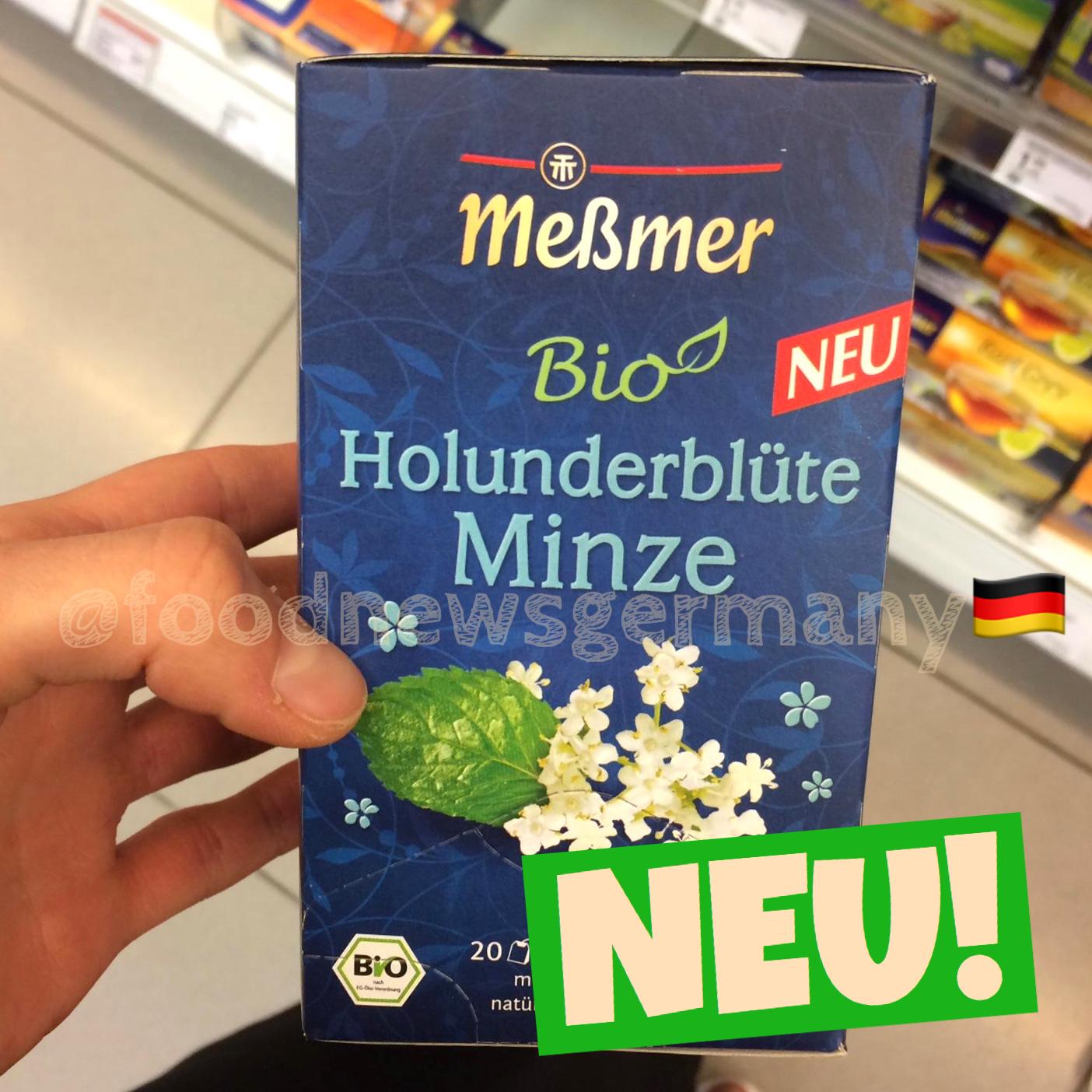 Meßmer Bio Tee Holunderblüte Minze