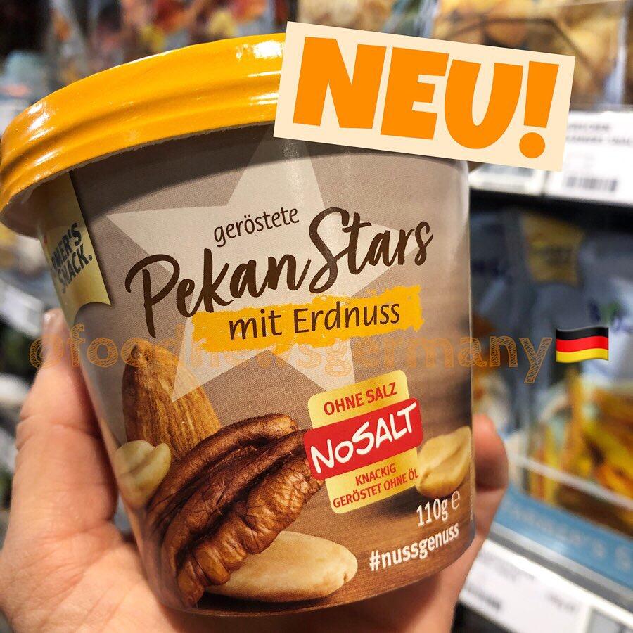 Farmer's Snack Pekan Stars mit Erdnuss
