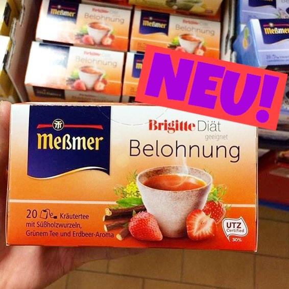 """Meßmer Tee """"Belohnung"""" - Brigitte Diät"""